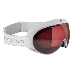 Маска горнолыжная Indigo Voggles Polarized Photochromatic white